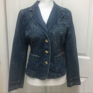 Tommy Hilfiger | Retro Denim Jacket | Size 10